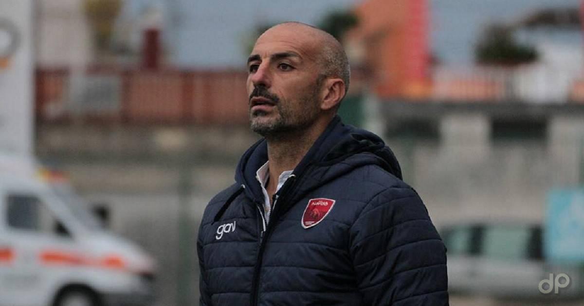 Roberto Tauirno allenatore Nardò 2019