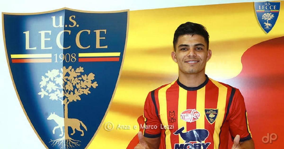 Brayan Emanuel Vera Ramírez al Lecce 2019