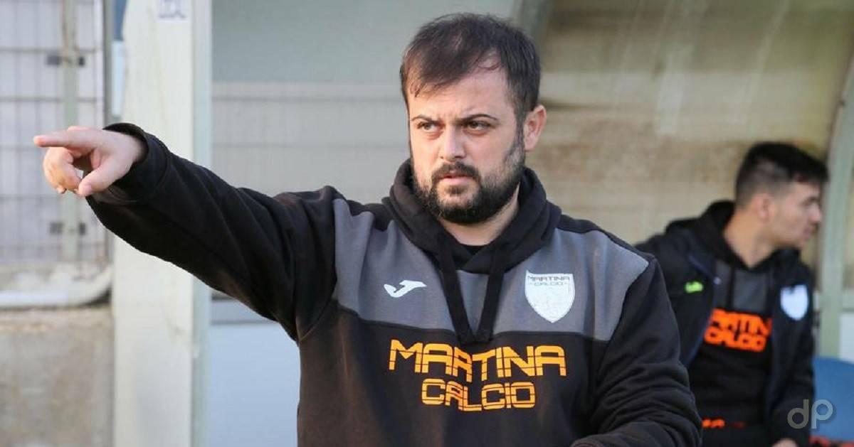 Giacomo Marasciulo allenatore del Martina 2019
