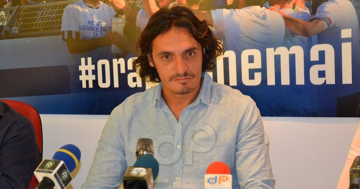 Giuseppe Branà allenatore Virtus Matino 2019