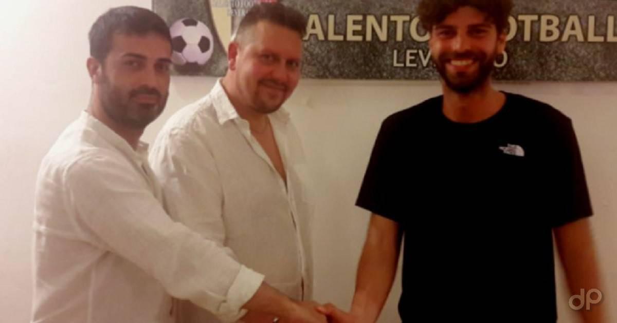 Paladini Verdesca Calasso alla Salento Football Leverano 2019