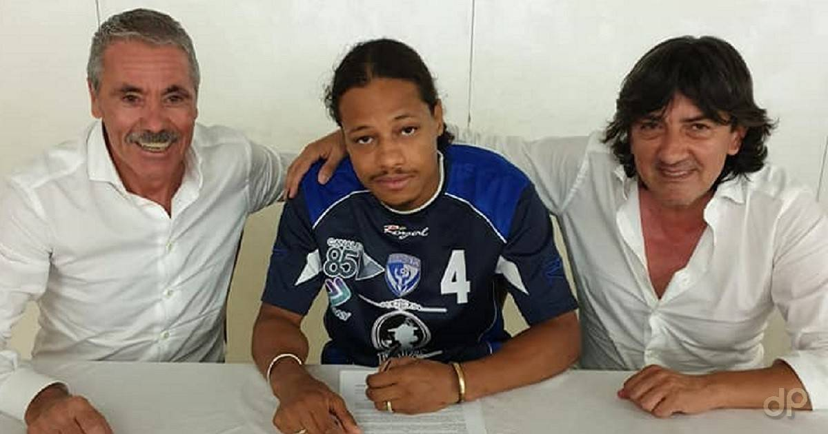 Amadou Pierre Tidjane Corbier al Brindisi 2019