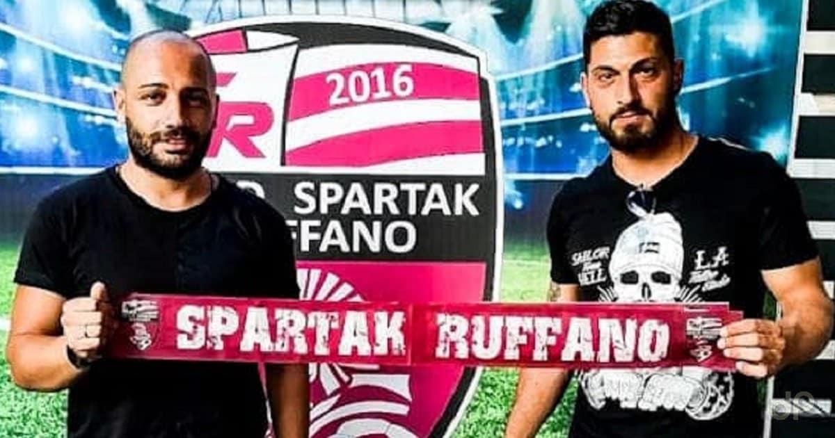 Antonio Elia e Maurizio Striano allo Spartak Ruffano 2019