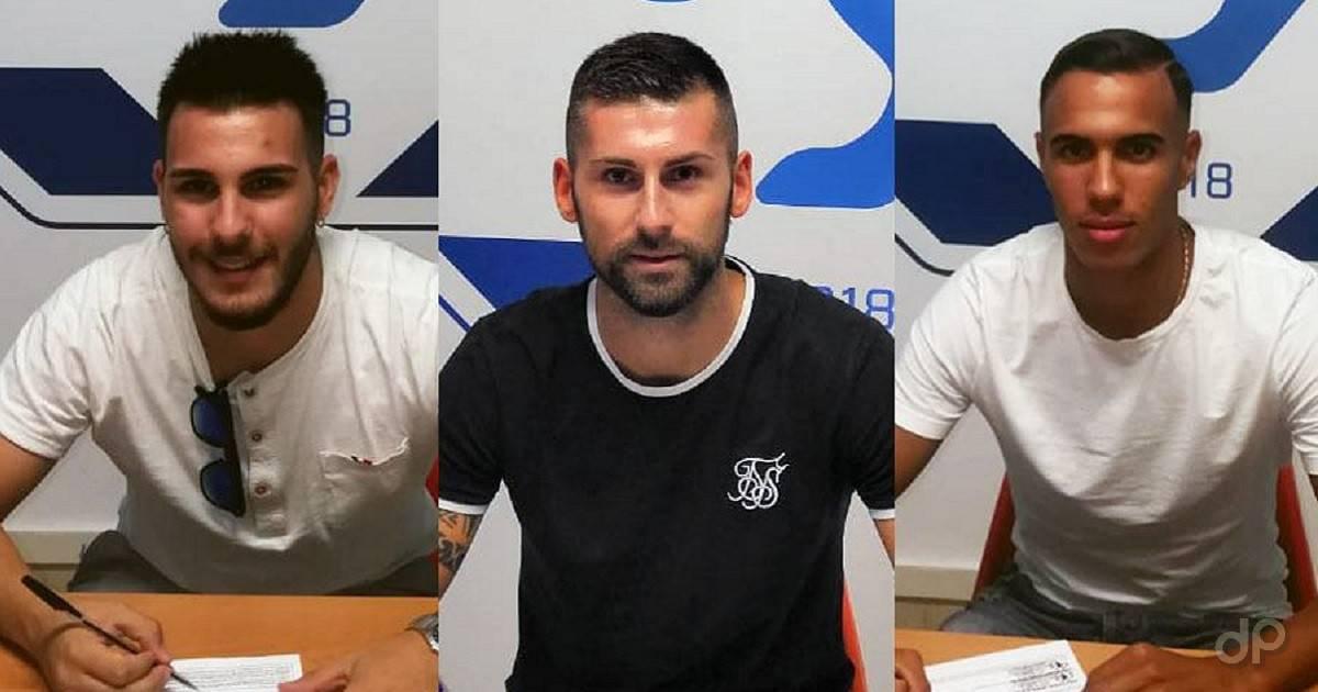 Di Filippo, Nives e Arfaoui alla Fidelis Andria 2019