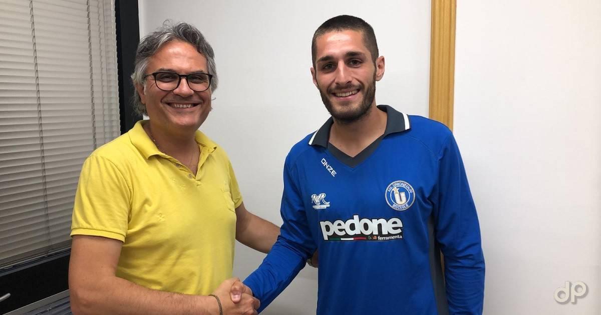 Luigi Zinetti all'Unione Calcio Bisceglie 2019