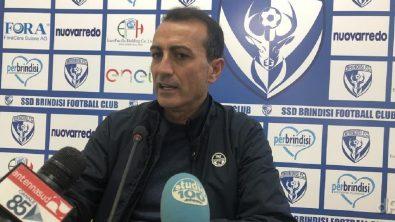 Massimiliano Olivieri allenatore Brindisi 2019