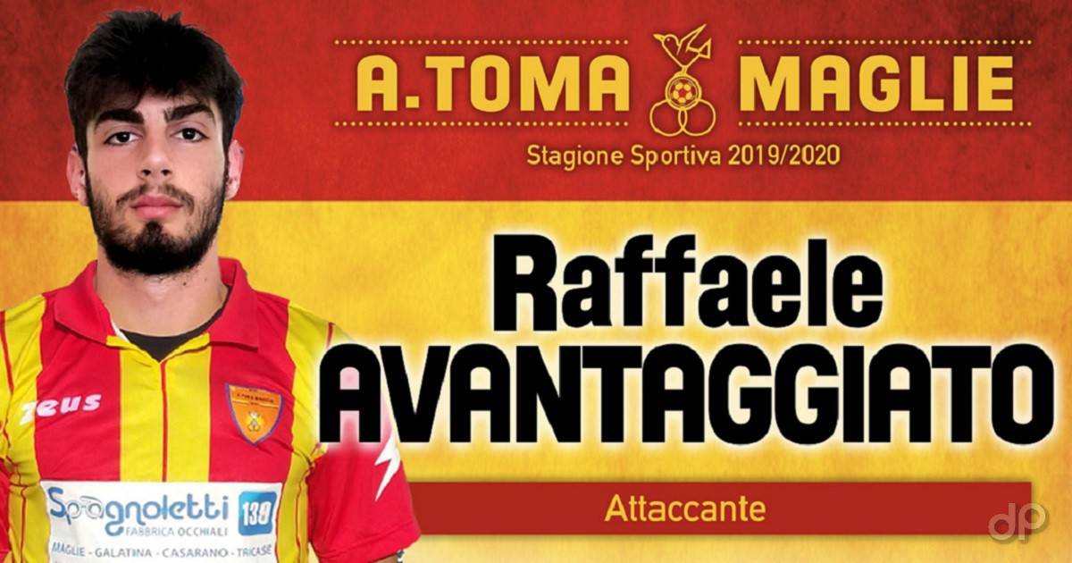 Raffaele Avantaggiato al Maglie 2019