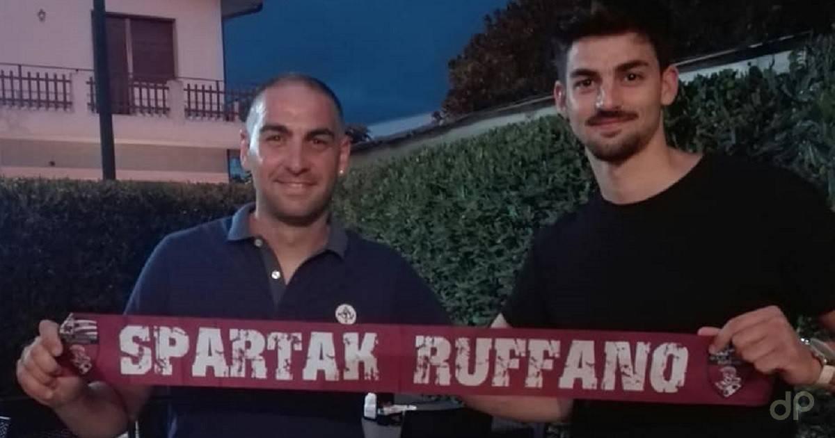 Rocco Piccinonno allo Spartak Ruffano 2019