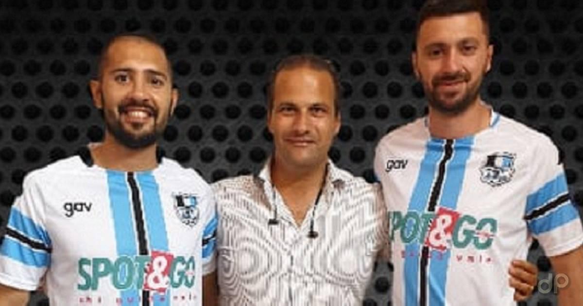 Salguero Valori all'Atletico Racale 2019