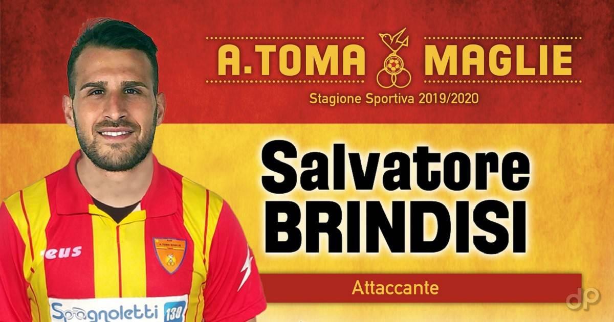 Salvatore Brindisi al Maglie 2019