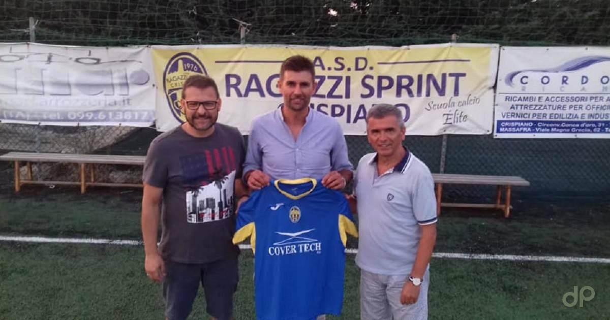 Antonio D'Onghia allenatore RS Crispiano 2019