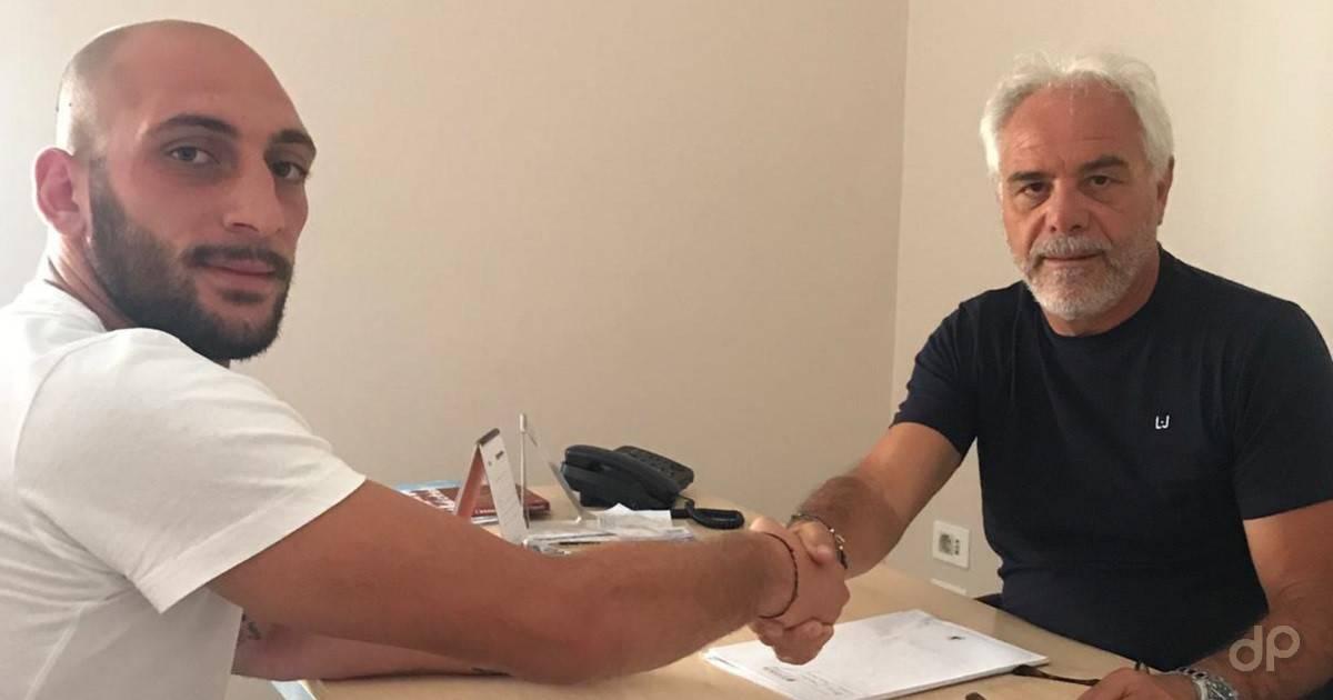 Riccardo Ferrara al Casarano 2019