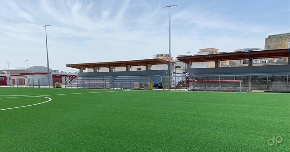 """Lo stadio """"Benedetto Petrone"""" di Molfetta"""