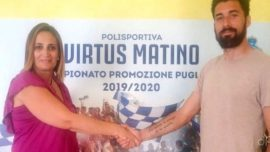 Virtus Matino, un argentino ex Nardò per la difesa biancazzurra
