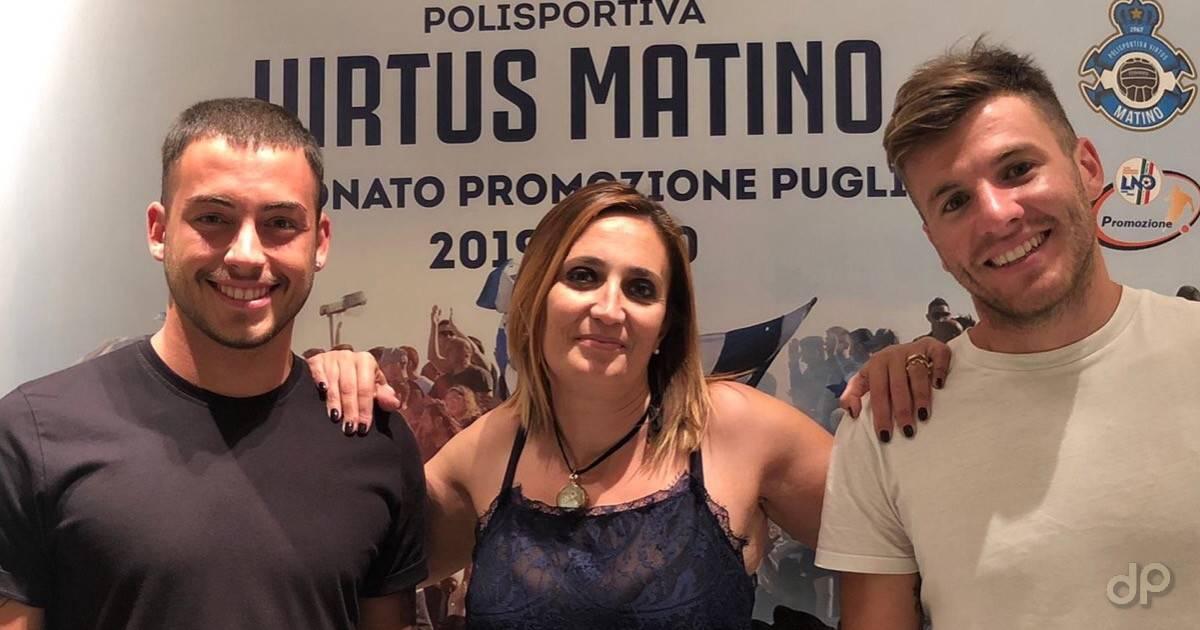 Giorgio Kavin e Lucas Garcia alla Virtus Matino 2019
