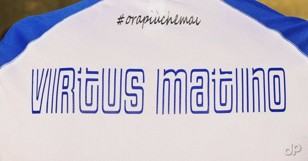 Retro maglia Virtus Matino 2019