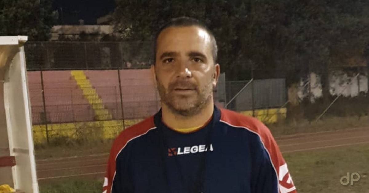 Antonio Macchia allenatore San Pietro Vernotico 2019