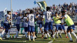 Fasano, 3-0 contro il Francavilla e i biancazzurri raggiungo la vetta solitaria
