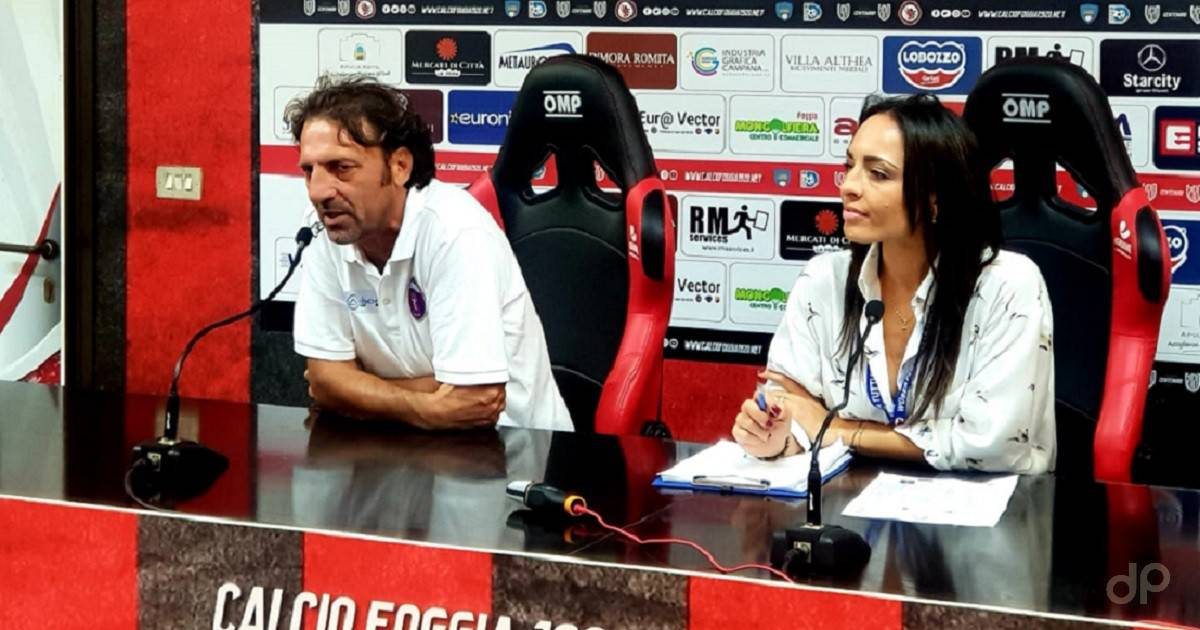 Intervista De Candia dopo Foggia-Casarano 2019