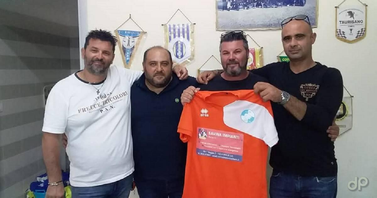 Tiziano Carlino direttore sportivo Veglie 2019