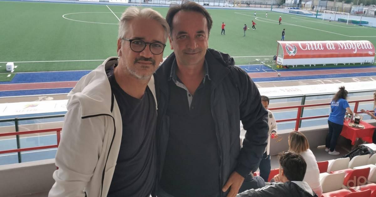 Vito Aufieri e Saverio Bufi alla Molfetta Calcio 2019