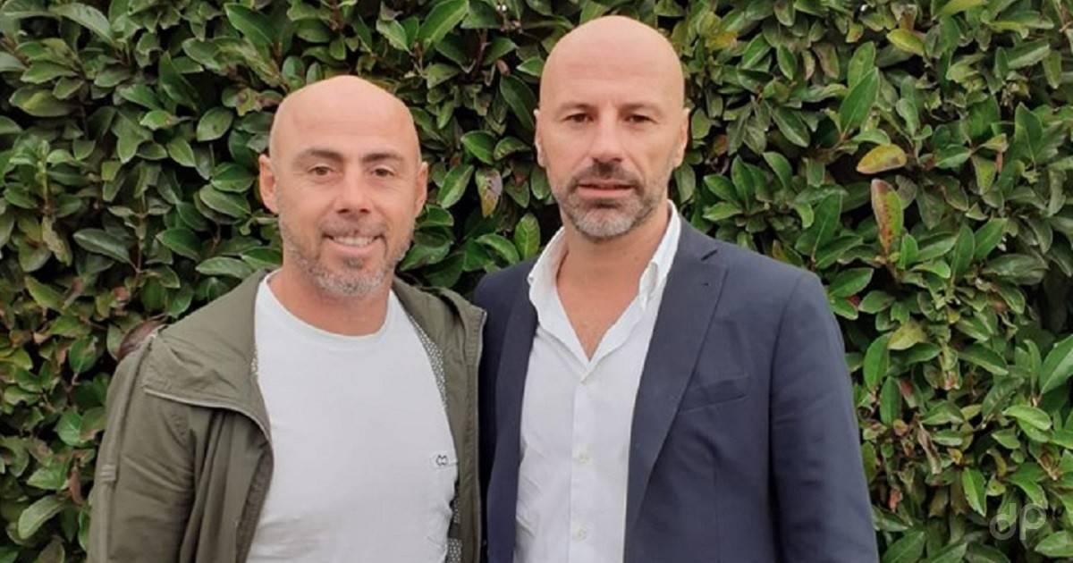 Fabio Moscelli e Raimondo Catalano alla Fidelis Andria 2019