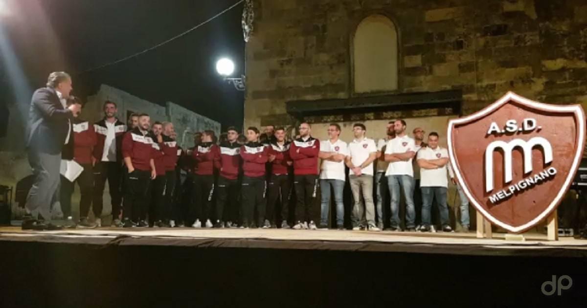 Presentazione squadra Melpignano 2019/20