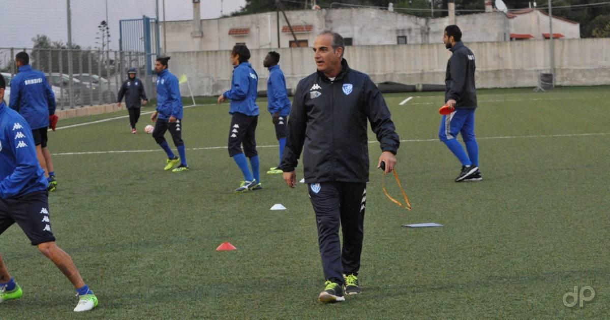 Salvatore Ciullo allenatore Brindisi 2019