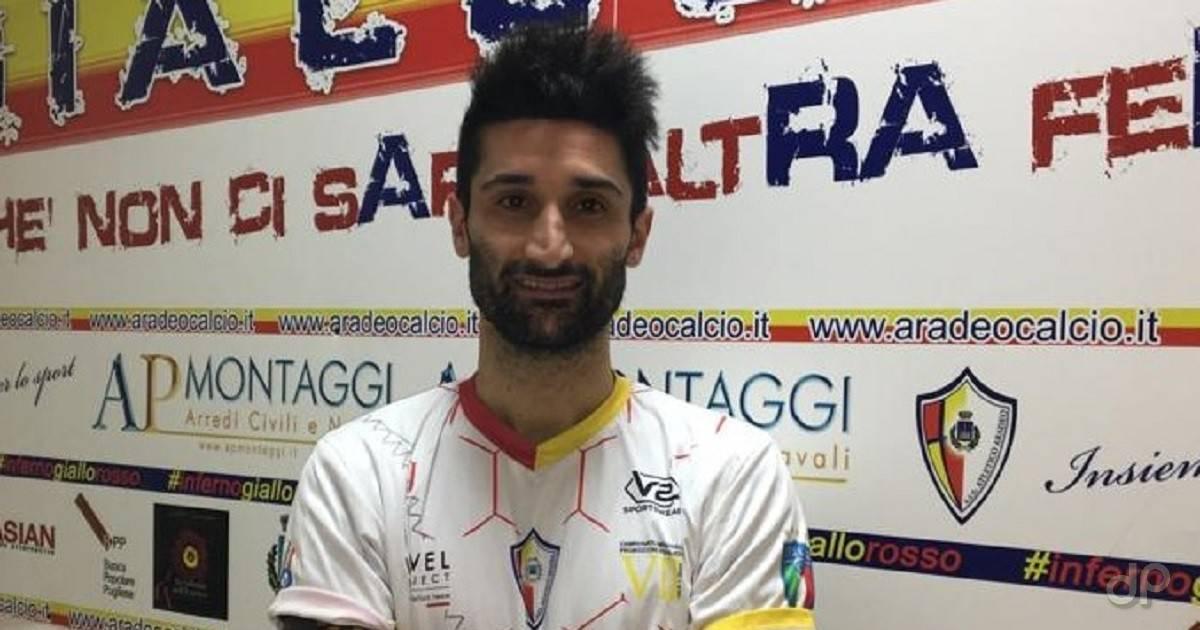 Gioacchino Garrapa all'Atletico Aradeo 2019