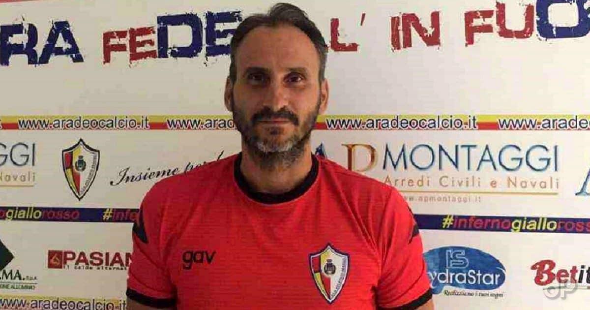 Graziano Tartaglia allenatore Atletico Aradeo 2019