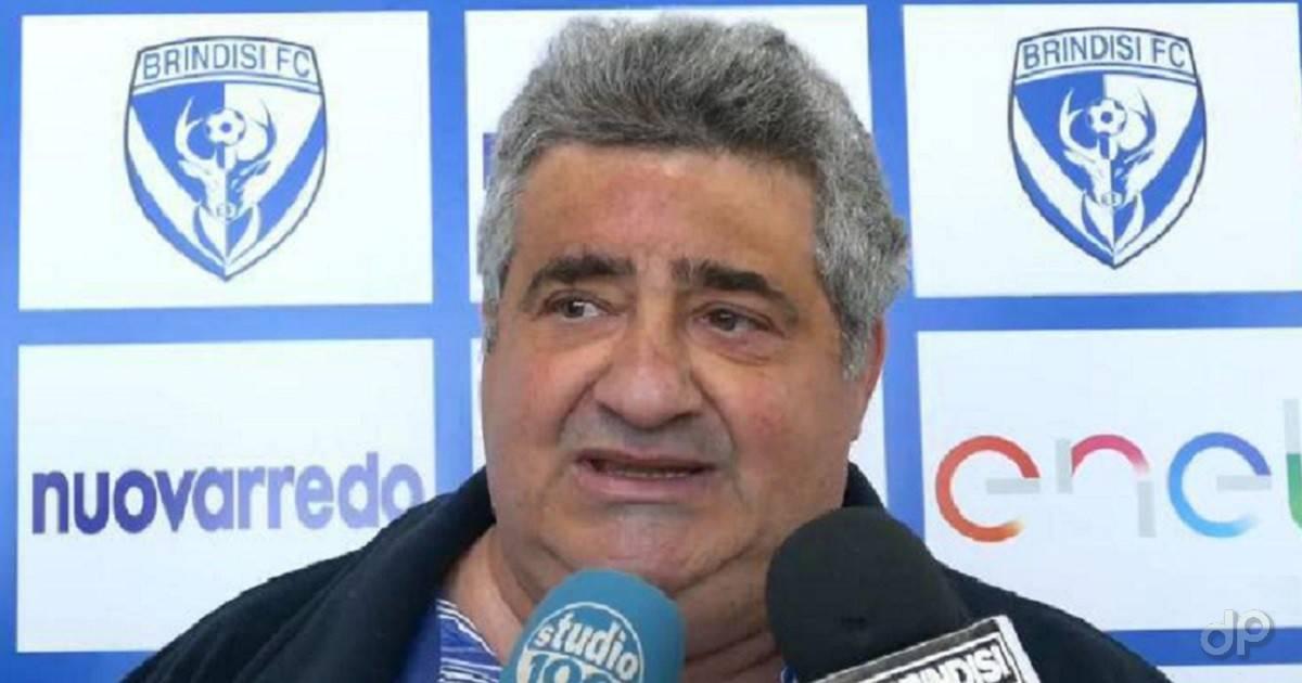 Umberto Vangone presidente Brindisi 2019