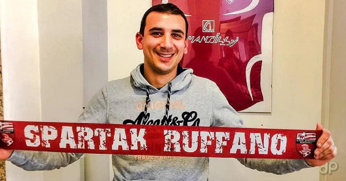 Valerio De Icco allo Spartak Ruffano 2019