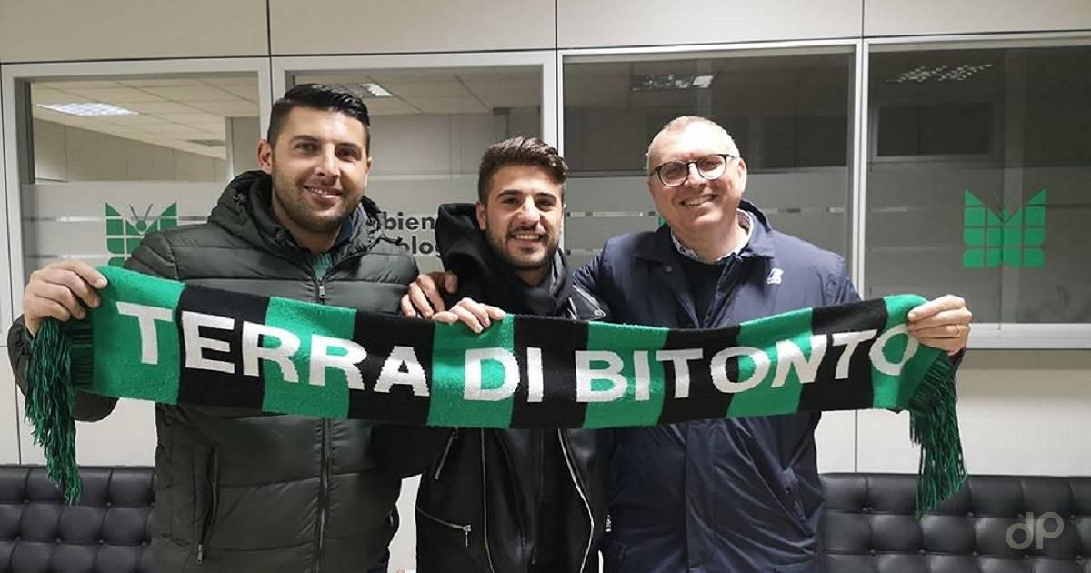 Mauro Bollino al Bitonto 2020