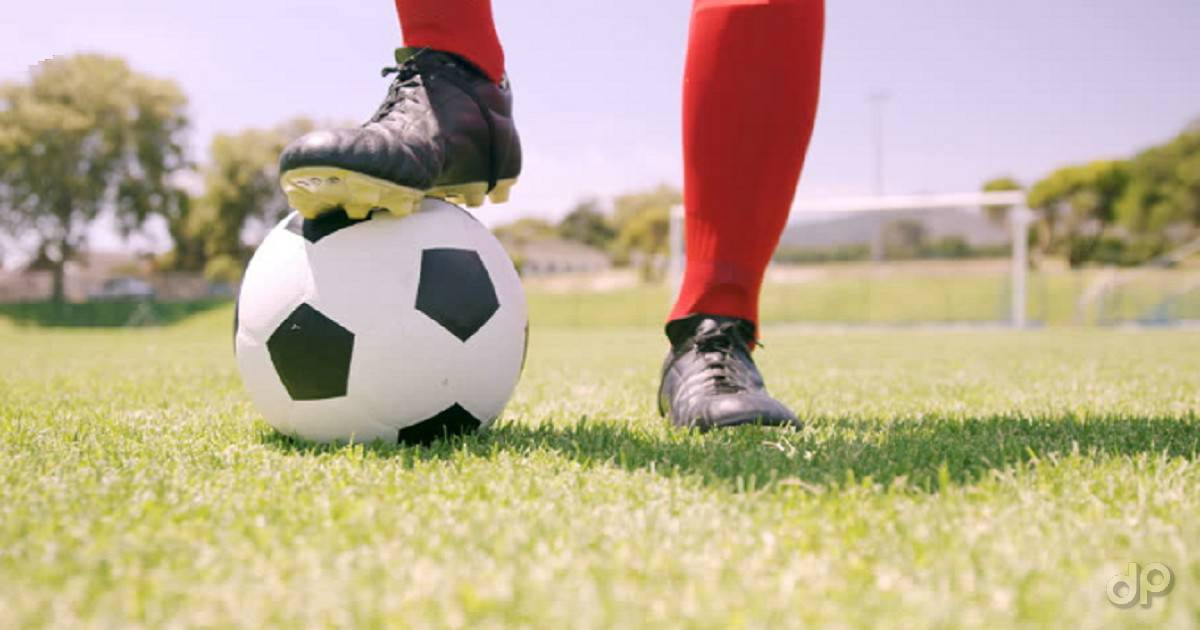 Pallone calcio bianconero