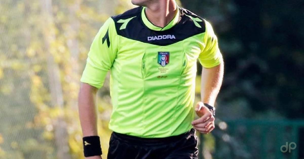 Arbitro Lnd maglia gialla 2020