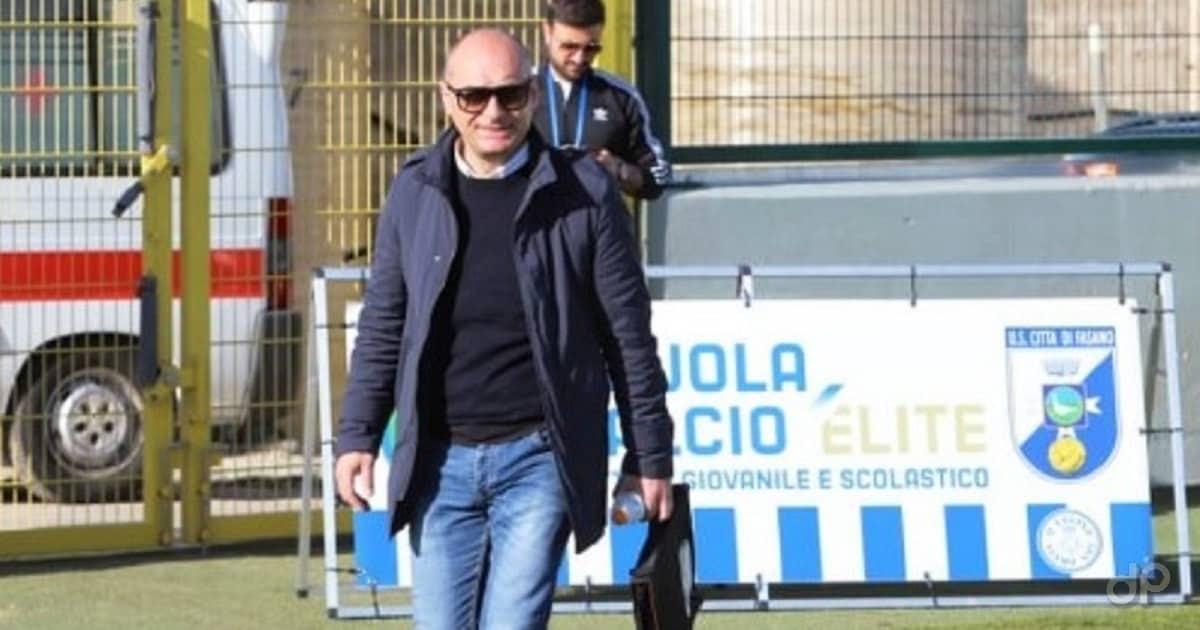 Antonio Obbiettivo direttore generale del Fasano 2020
