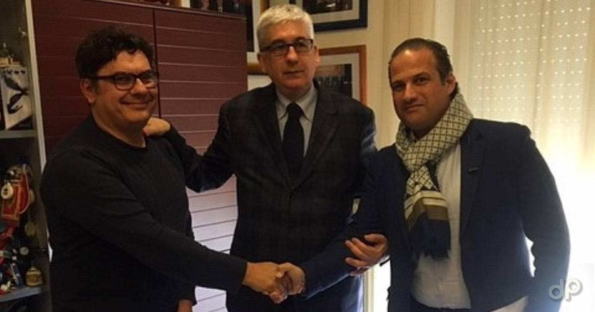 Rappresentanti società finaliste Coppa Italia Promozione 2020