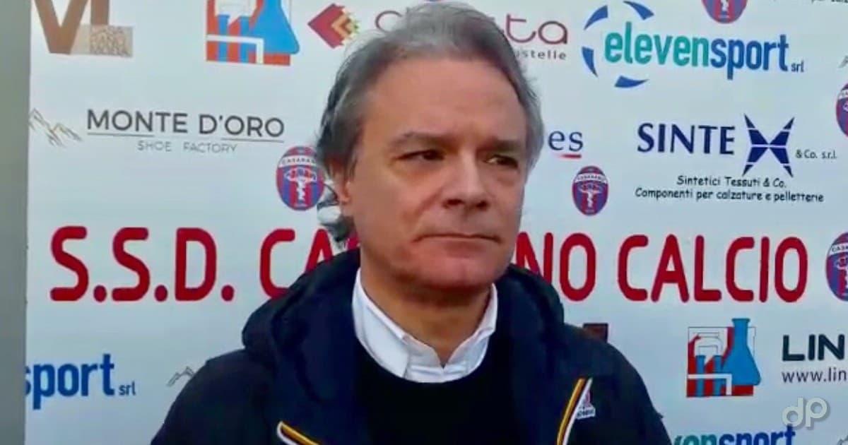 Giampiero Maci presidente Casarano 2020