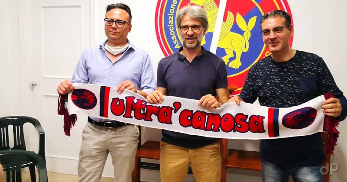 Davide Papagni allenatore Canosa 2020