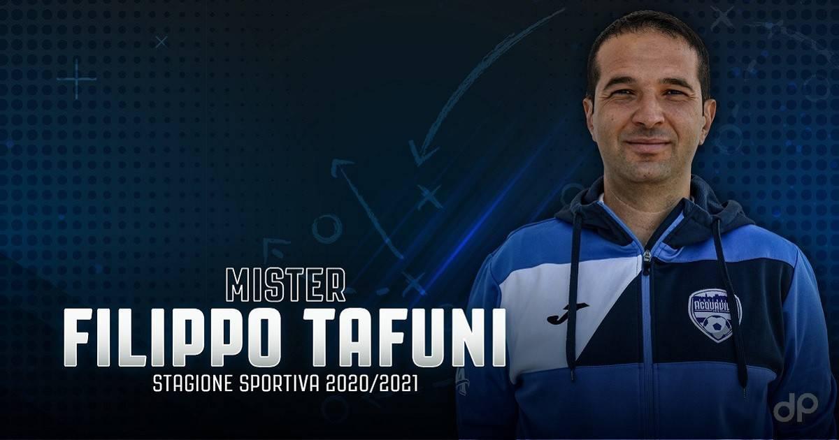 Filippo Tafuni allenatore Football Acquaviva 2020