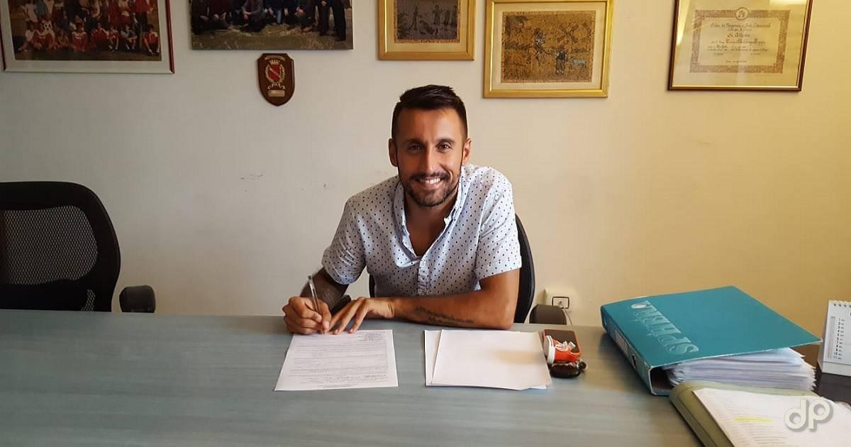 Lorenzo Legari alla Molfetta Calcio 2020