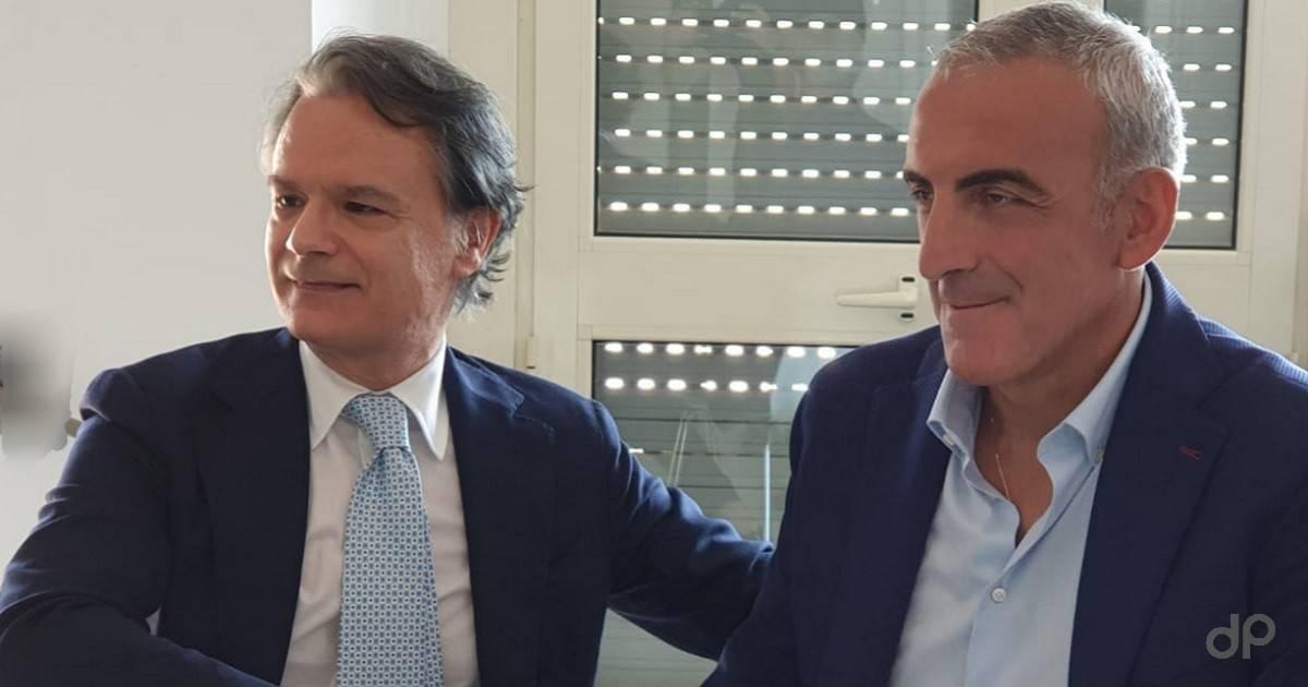 Presentazione Vincenzo Feola tecnico Casarano 2020