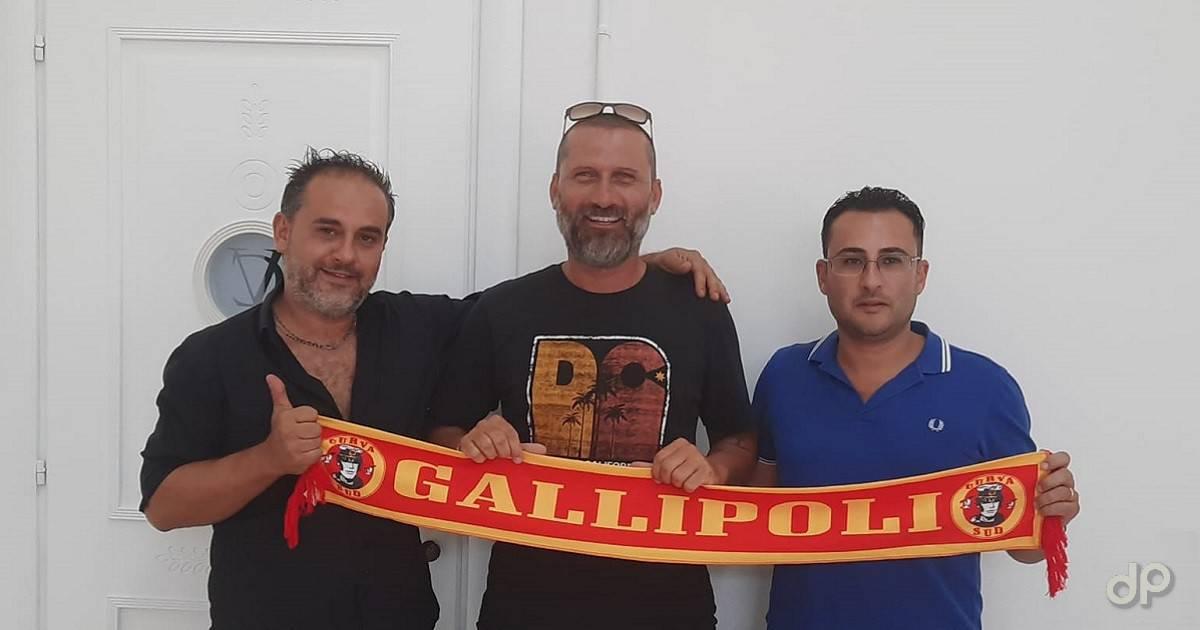 Andrea De Marco alla FJ Gallipoli 2020