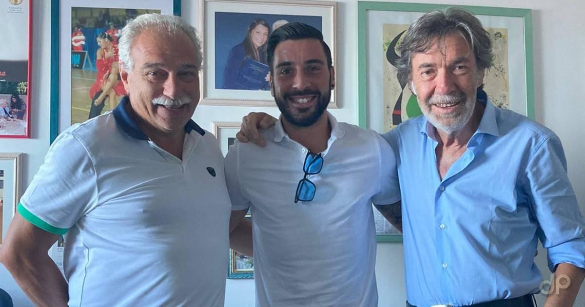 Matteo Triggiani alla Molfetta Calcio 2020