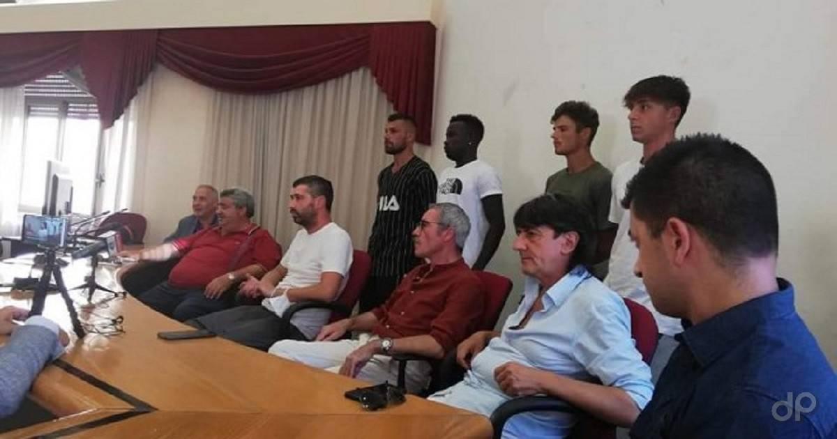 Presentazione primi nuovi calciatori Brindisi 2020