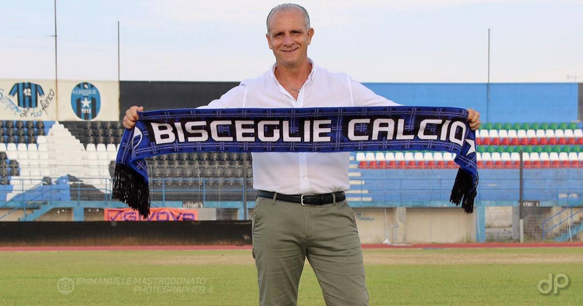 Sergio La Cava allenatore Bisceglie 2020