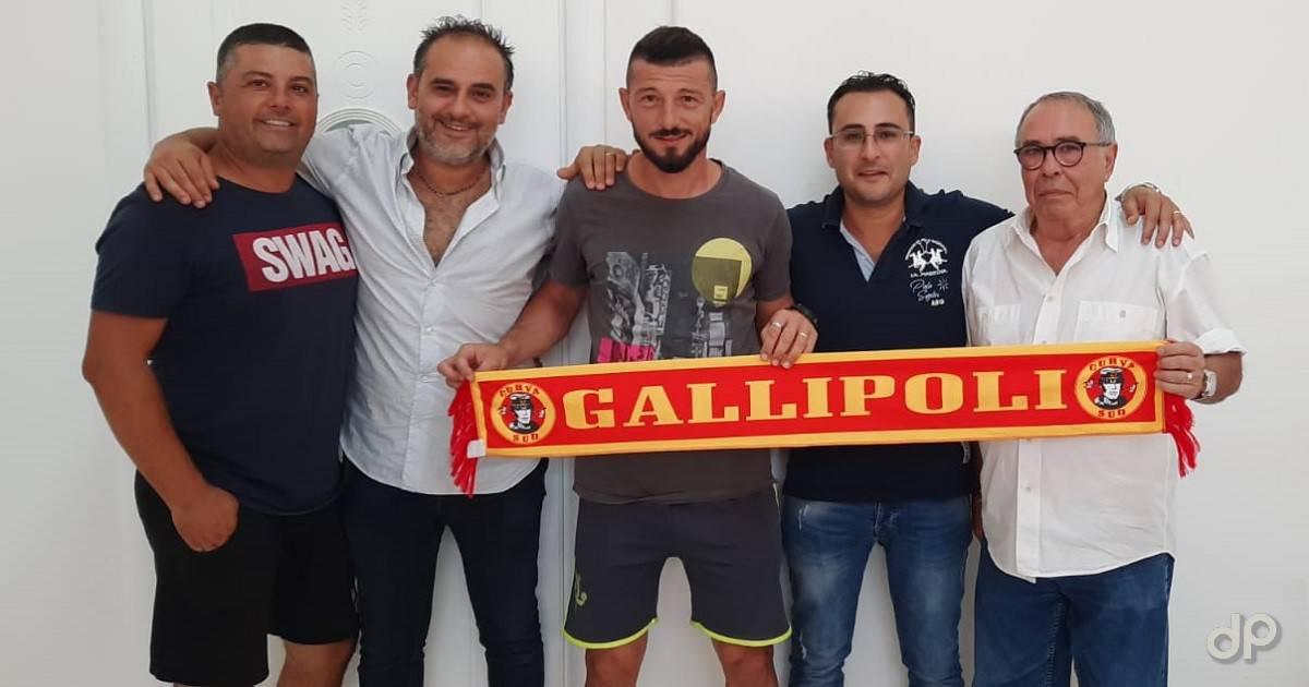 Alessandro Carrozza alla FJ Gallipoli 2020