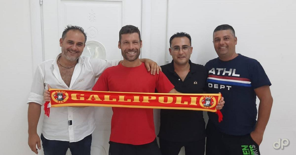 Claudio Zaminga alla FJ Gallipoli 2020