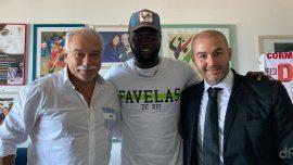Layousse Diallo alla Molfetta Calcio 2020