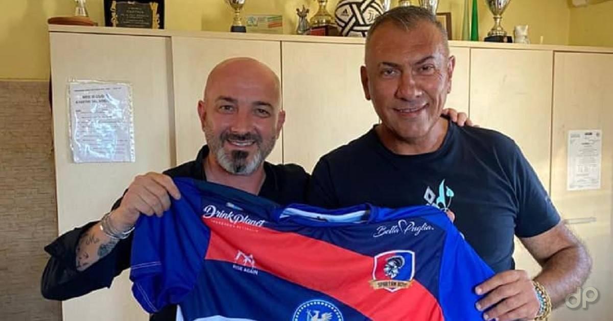 Vincenzo Pulpito e Domenico Castria SB Ginosa